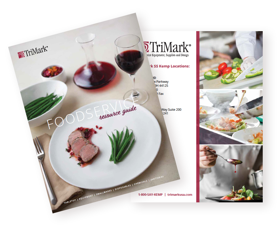 TriMark SS Kemp Foodservice Resource Guide Cover