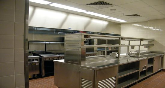 The George W. Bush Presidential Library and Museum bistro kitchen