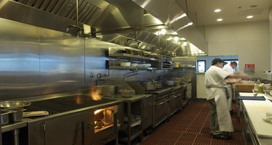 Mustards Grill kitchen