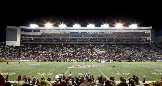 Washington State University football field