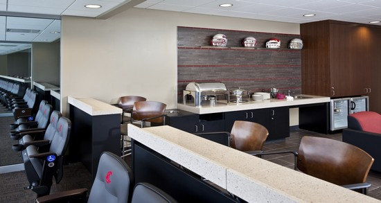 Washington State University luxury box seats