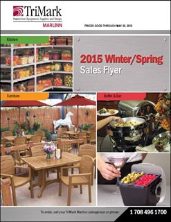 Winter/Spring 2015, First Quarter Sales Flyer