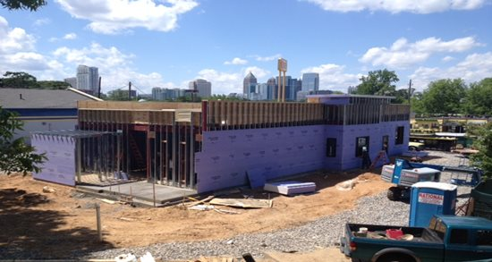Zaxby's new restaurant construction