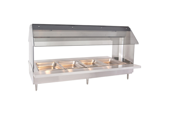 Alto-Shaam HFT2-400 Countertop Hot Food Table