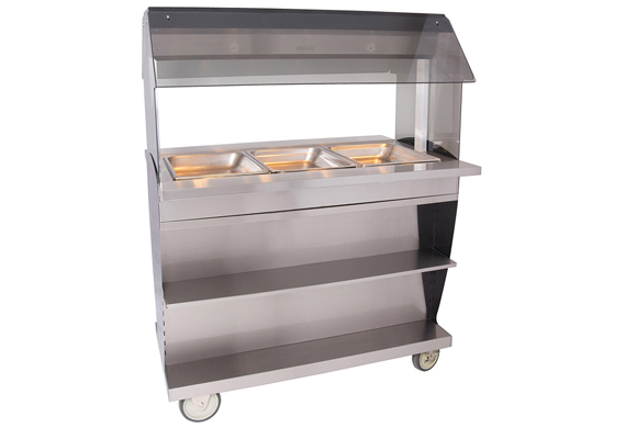 Alto-Shaam HFT2SYS-300 Hot Food Table Island
