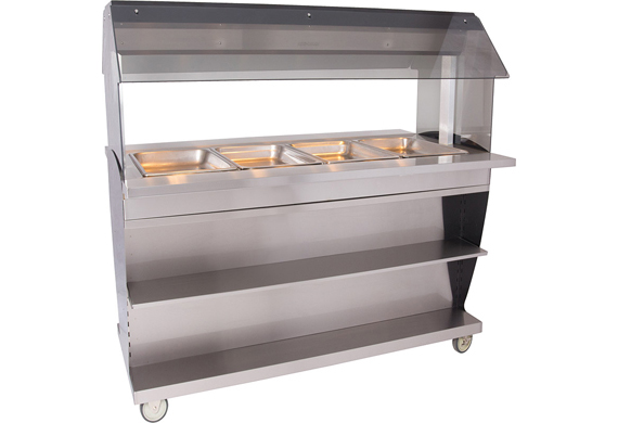 Alto-Shaam HFT2SYS-400 Hot Food Table Island