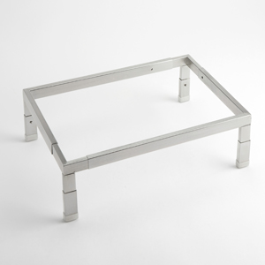 STAINLESS STEEL ADJUSTABLE STAND