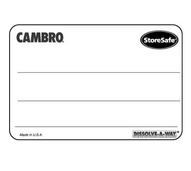Cambro 1252SLINB250 Stickers (Labels)