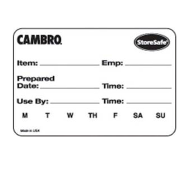 Cambro 23SL Stickers (Labels)