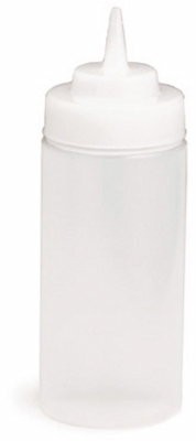 Wide Mouth Squeeze Bottle, 16 oz
