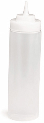 Wide Mouth Squeeze Bottle, 24 oz