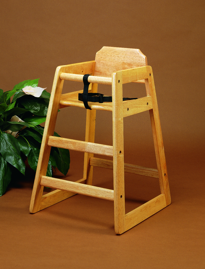 "High Chair, 20 1/4"" x 18 7/8"" x 27 1/4""H"