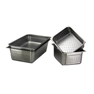 "Full Size Perforated Steam Table Pan, 6"" Deep"