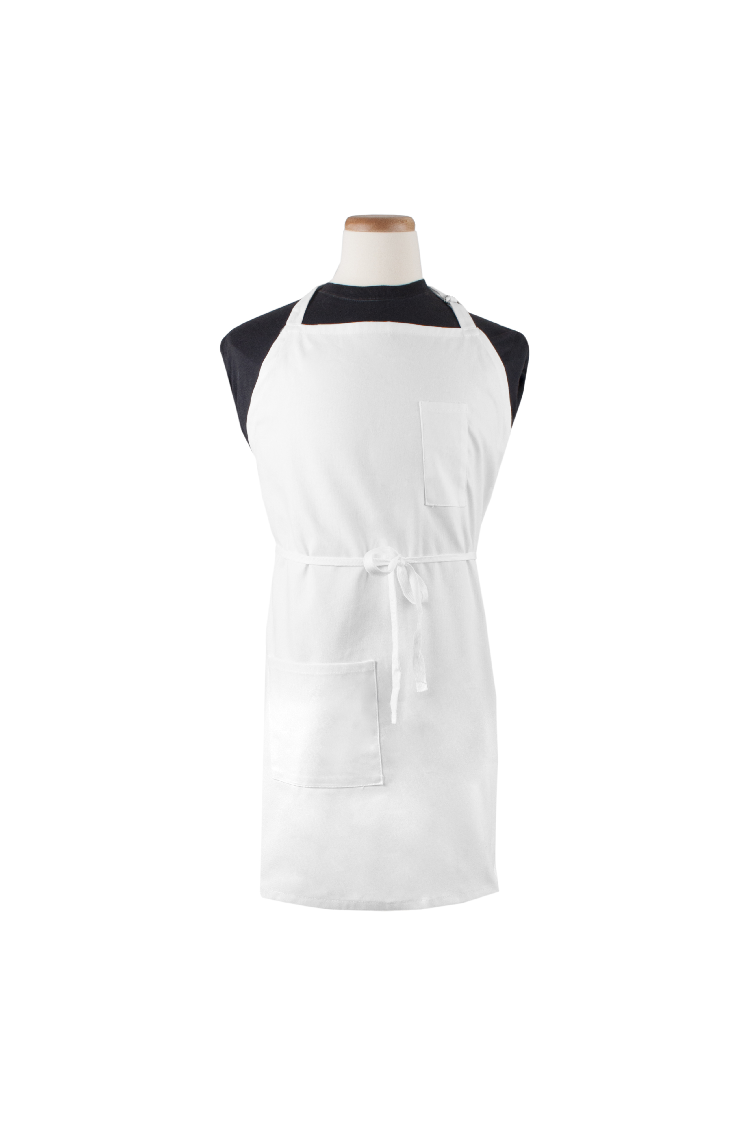 "3-Pocket Bib Apron, 32"" x 32""L"