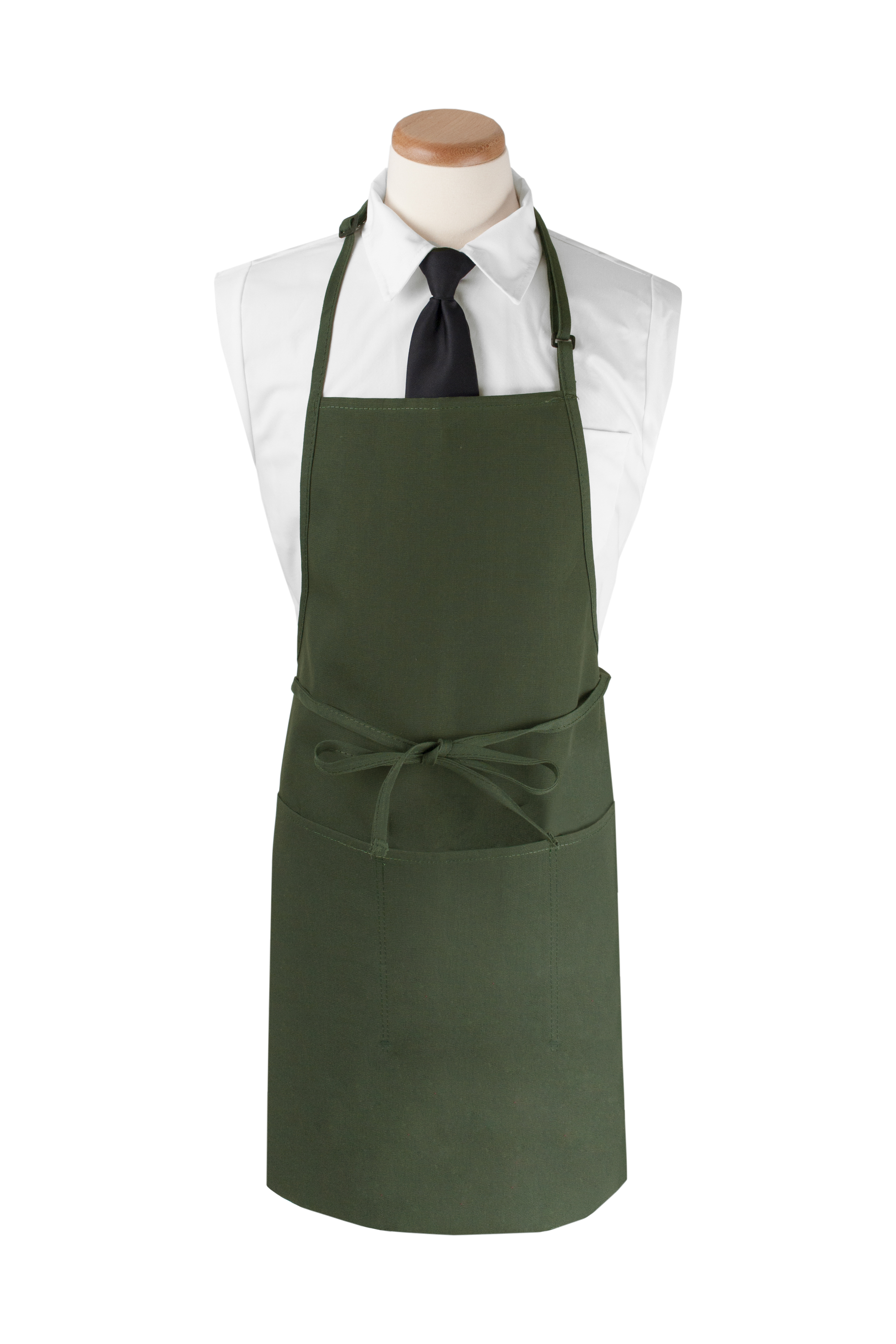 "4-Pocket Extra Long Bib Apron, 26""W x 31""L"