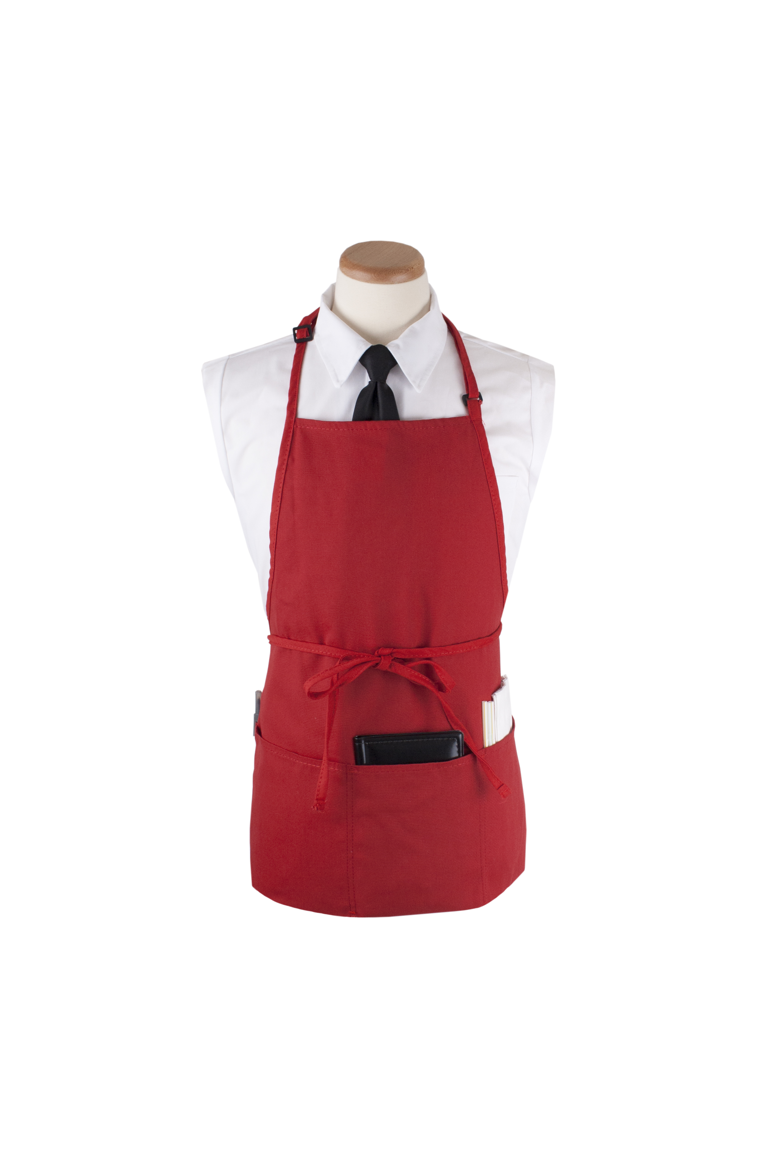 "4-Pocket Bib Apron, 26""W x 23""L"
