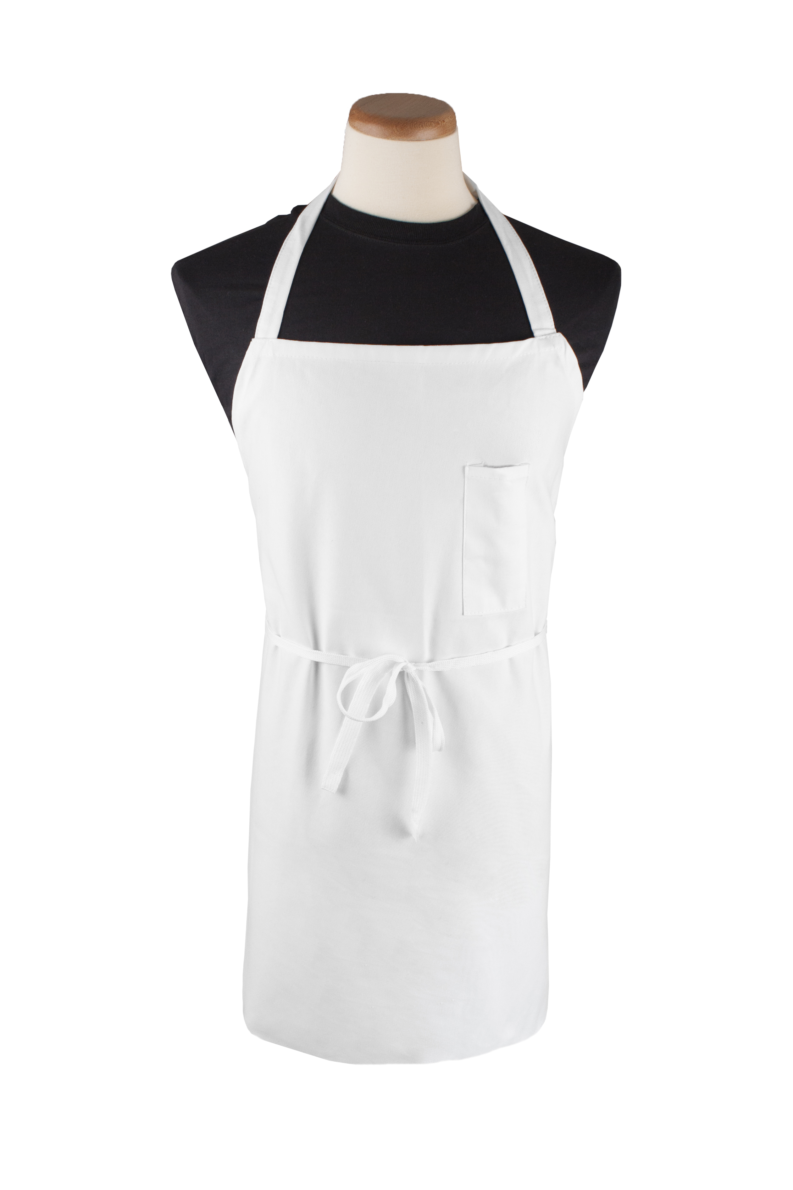 "Bib Apron w/Pen Pocket, 32"" x 32""L"