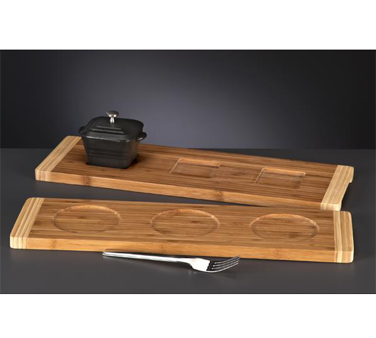 Libbey World Tableware BAM-15 Platter, Wood