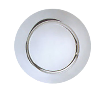 Libbey World Tableware CPB-13 Service Plate, Stainless Steel