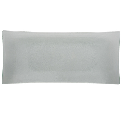 Arcata, Glass, Flared Rectangular Platter