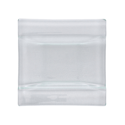 Arcata, Glass, Square Plate