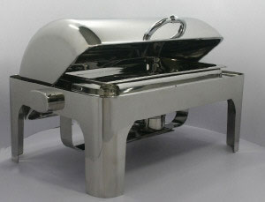 Arcata, Dripless Rolltop Chafer, Rectangle