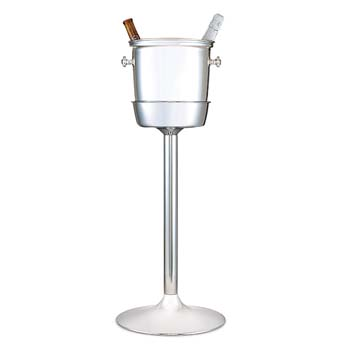 Steelite DW Haber Wine Coolers Stainless Steel, Wine Stand For Two Bottle Cooler